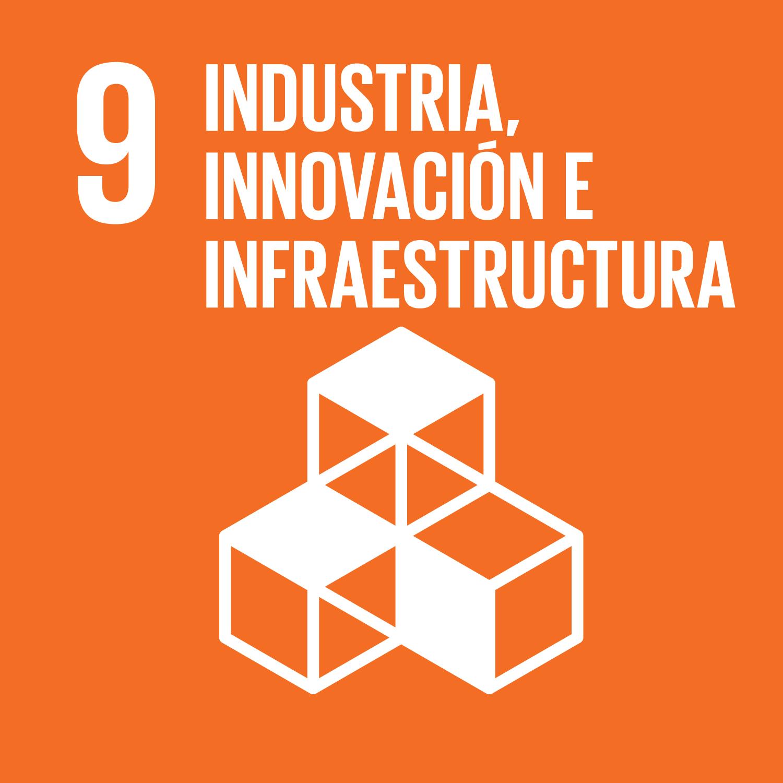 Objetivo 9. Construir infraestructuras resilientes, promover la industrialización inclusiva y sostenible y fomentar la innovación.