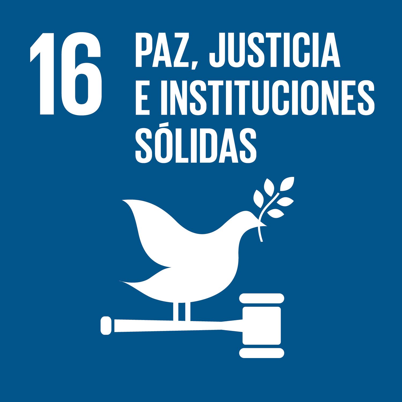 Objetivo 16: Promover sociedades, justas, pacíficas e inclusivas